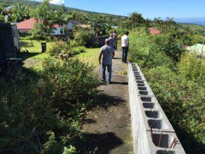 Travaux Danage promotion à Saint-Joseph sur l'île de la Réunion
